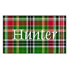 Tartan - Hunter Decal