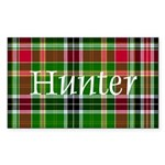 Tartan - Hunter Sticker (Rectangle 10 pk)