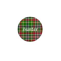 Tartan - Hunter Mini Button