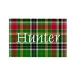 Tartan - Hunter Rectangle Magnet (100 pack)
