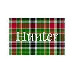 Tartan - Hunter Rectangle Magnet (100 pack)