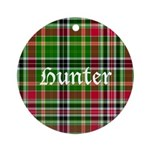 Tartan - Hunter Ornament (Round)