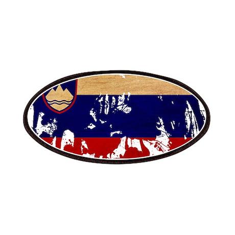 Slovenia Flag Patches