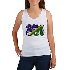 Solomon Islands Flag Women's Tank Top
