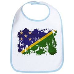 Solomon Islands Flag Bib