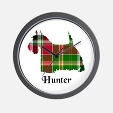 Terrier - Hunter Wall Clock