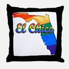 El Chico, Florida, Gay Pride, Throw Pillow