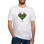 Heart - Hunter Fitted T-Shirt