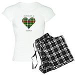 Heart - Hunter Women's Light Pajamas