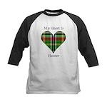 Heart - Hunter Kids Baseball Jersey