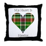 Heart - Hunter Throw Pillow