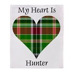 Heart - Hunter Throw Blanket