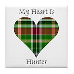 Heart - Hunter Tile Coaster