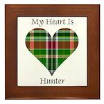 Heart - Hunter Framed Tile