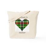 Heart - Hunter Tote Bag