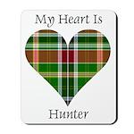 Heart - Hunter Mousepad