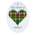 Heart - Hunter Ornament (Oval)