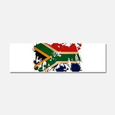 South Africa Flag Car Magnet 10 x 3