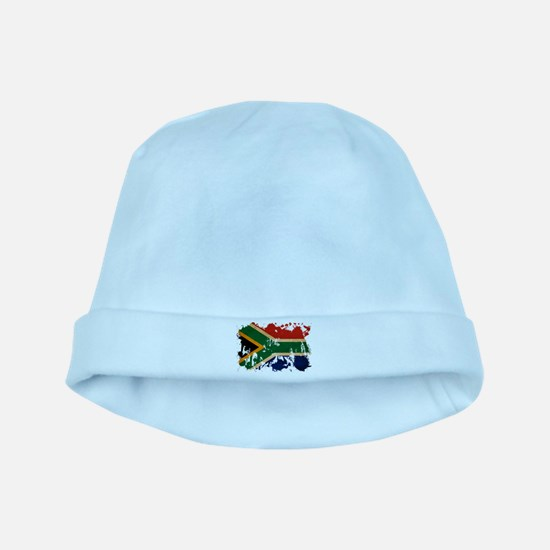 South Africa Flag baby hat