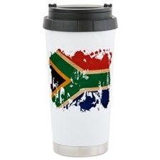 South Africa Flag Travel Mug