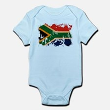 South Africa Flag Infant Bodysuit