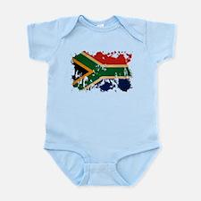 South Africa Flag Onesie