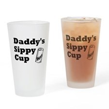 Daddy's Sippy Cup Drinking Glass