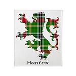 Lion - Hunter Throw Blanket
