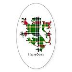 Lion - Hunter Sticker (Oval 50 pk)