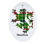 Lion - Hunter Ornament (Oval)