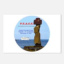 P.E.A.C.E. 2007 LOGO- Postcards (Package of 8)