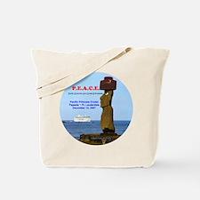 P.E.A.C.E. 2007 LOGO- Tote Bag