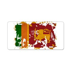 Sri Lanka Flag Aluminum License Plate