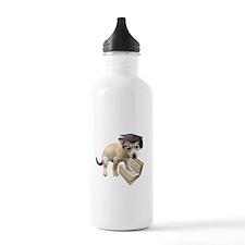 Scholar Puppy Water Bottle