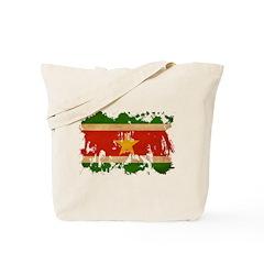 Suriname Flag Tote Bag