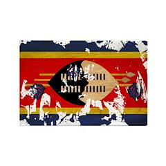 Swaziland Flag Rectangle Magnet