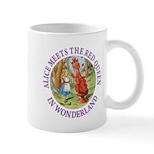 Alice Meets The Red Queen Mug