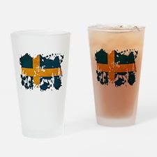 Sweden Flag Drinking Glass