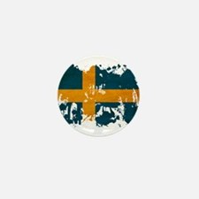 Sweden Flag Mini Button