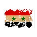 Syria Flag Car Magnet 20 x 12