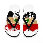 Syria Flag Flip Flops