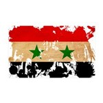 Syria Flag 38.5 x 24.5 Wall Peel