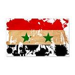 Syria Flag 22x14 Wall Peel