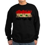 Syria Flag Sweatshirt (dark)