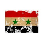 Syria Flag Rectangle Magnet (100 pack)