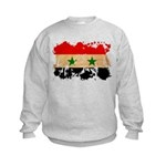 Syria Flag Kids Sweatshirt