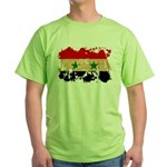 Syria Flag Green T-Shirt