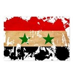 Syria Flag Postcards (Package of 8)
