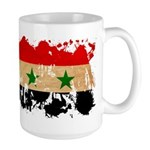 Syria Flag Large Mug