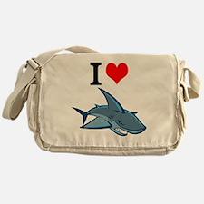 Unique Sharks hockey Messenger Bag